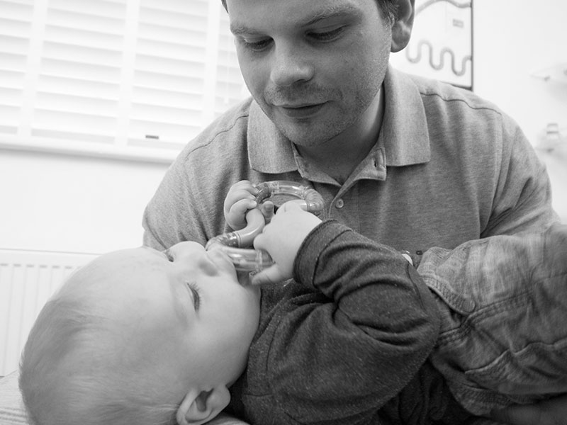Chiropractic treatment for babies and the whole family
